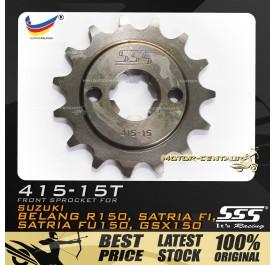 SSS FRONT SPROCKET STEEL BELANG 415-15T