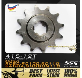 SSS FRONT SPROCKET STEEL RC 415-12T