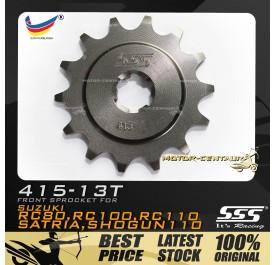 SSS FRONT SPROCKET STEEL RC 415-13T