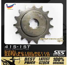 SSS FRONT SPROCKET STEEL RC 415-15T