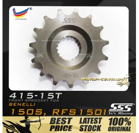SSS FRONT SPROCKET STEEL RFS150I 415-15T