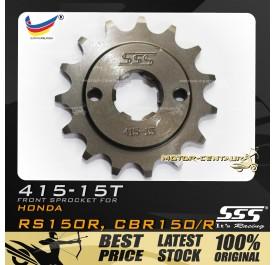 SSS FRONT SPROCKET STEEL RS150R 415-15T