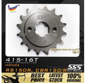 SSS FRONT SPROCKET STEEL RS150R 415-16T