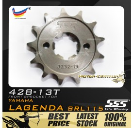SSS FRONT SPROCKET STEEL Y115 428-13T