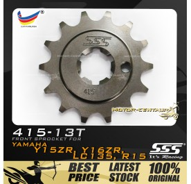 SSS FRONT SPROCKET STEEL Y135LC 415-13T