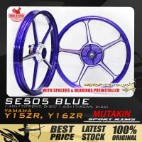 MUTAKIN SPORT RIMS W/BEARINGS SE505 1.40X17 (F) 1.60X17(R) Y15ZR BLUE