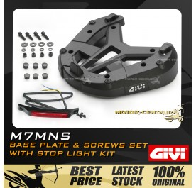 GIVI BASE PLATE & SCREW SET WITH LIGHT M7MN-S