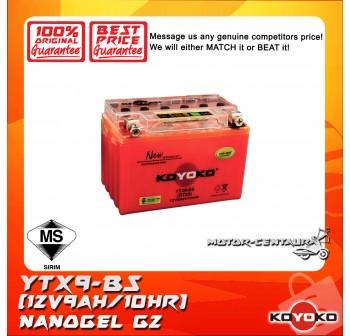 KOYOKO G2 NANOGEL BATTERY YTX9-BS