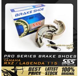 SSS BRAKE SHOES W/SPRING RXZ / LAGENDA 115