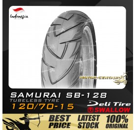 SWALLOW TUBELESS TYRE SB128 SAMURAI 120/70-15