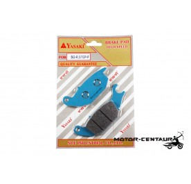 YASAKI DISC BRAKE PADS HIGH SPEED SO-R, STEP-F