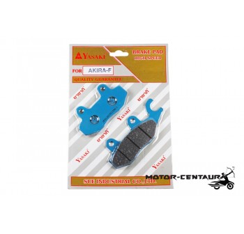 YASAKI DISC BRAKE PADS HIGH SPEED AKIRA