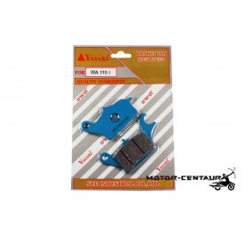 YASAKI DISC BRAKE PADS HIGH SPEED WA110I