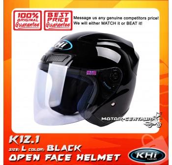 KHI HELMET K12.1 BLACK