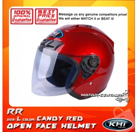 KHI HELMET K12.1 CANDY RED