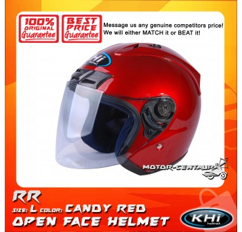 KHI HELMET K12.1 CANDY RED