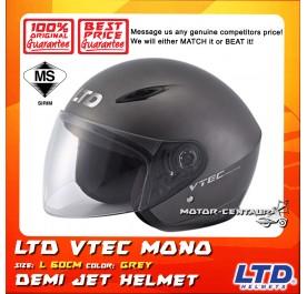 LTD HELMET VTEC MONO GREY