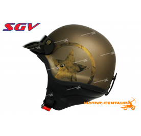 SGV HELMET WIRA STAR MATT GOLD