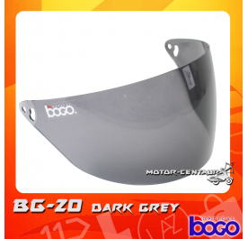 BOGO VISOR BG-20 (CRUISER) DARK GREY