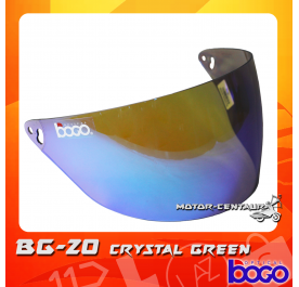 BOGO VISOR BG-20 (CRUISER) CRYSTAL GREEN