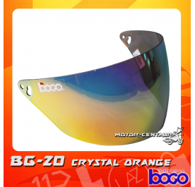 BOGO VISOR BG-20 (CRUISER) CRYSTAL ORANGE