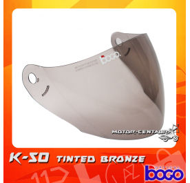 BOGO VISOR K50 (KHI) TINTED
