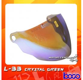 BOGO VISOR L33 (LTD) CRYSTAL GREEN