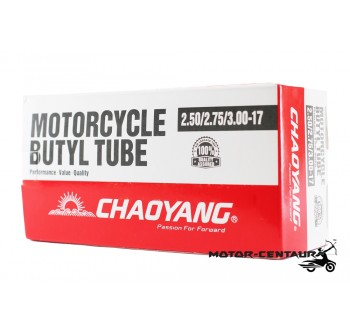 CHAOYANG BUTYL TUBE 2.25-17, 2.50-17, 2.75-17, 3.00-17, 2.50-18, 2.75-18