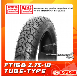 VIVA TUBE-TYPE TYRE FT168 2.75-10