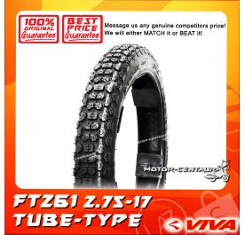 VIVA TUBE-TYPE TYRE FT261 2.75-17