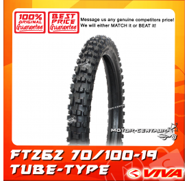 VIVA TUBE-TYPE TYRE FT262 70/100-19