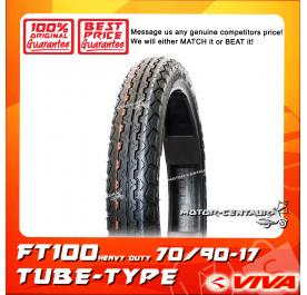 VIVA TUBE-TYPE TYRE FT100 70/90-17
