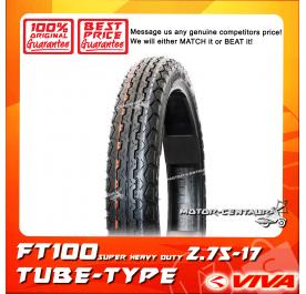 VIVA TUBE-TYPE TYRE FT100 SUPER HEAVY DUTY 2.75-17