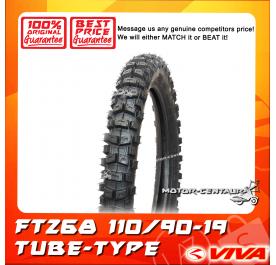 VIVA TUBE-TYPE TYRE FT268 110/90-19