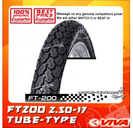 VIVA TUBE-TYPE TYRE FT200 2.50-17