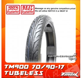 TMAX TUBELESS TYRE TM900 70/90-17