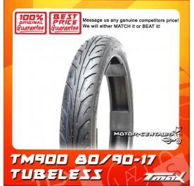 TMAX TUBELESS TYRE TM900 80/90-17