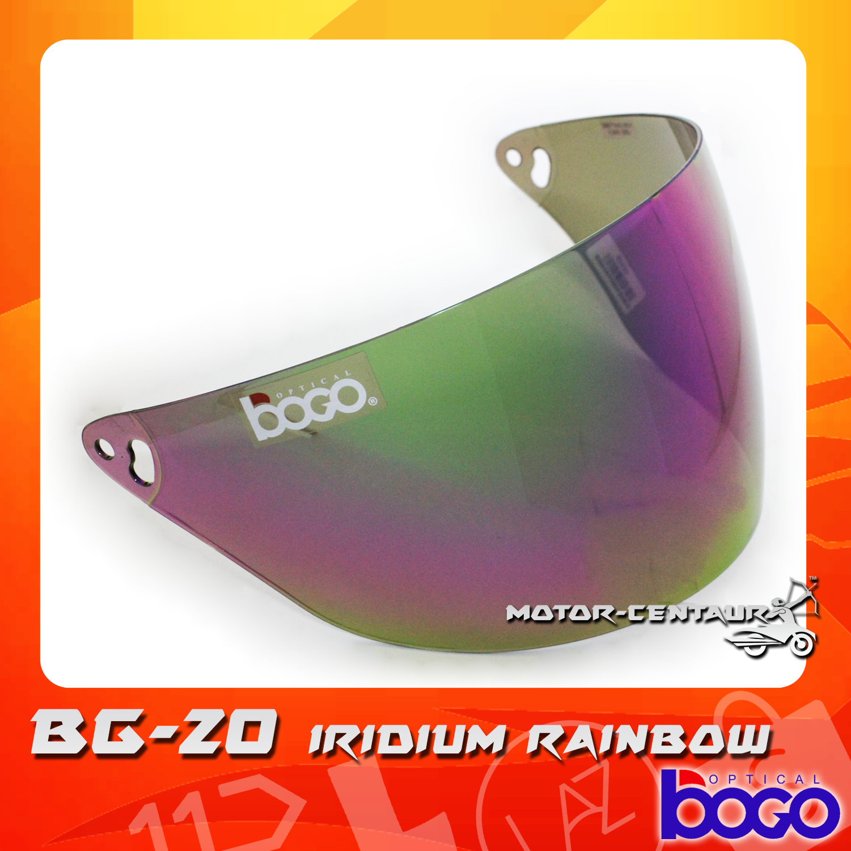 Bogo Visor Bg 20 Cruiser Iridium Rainbow