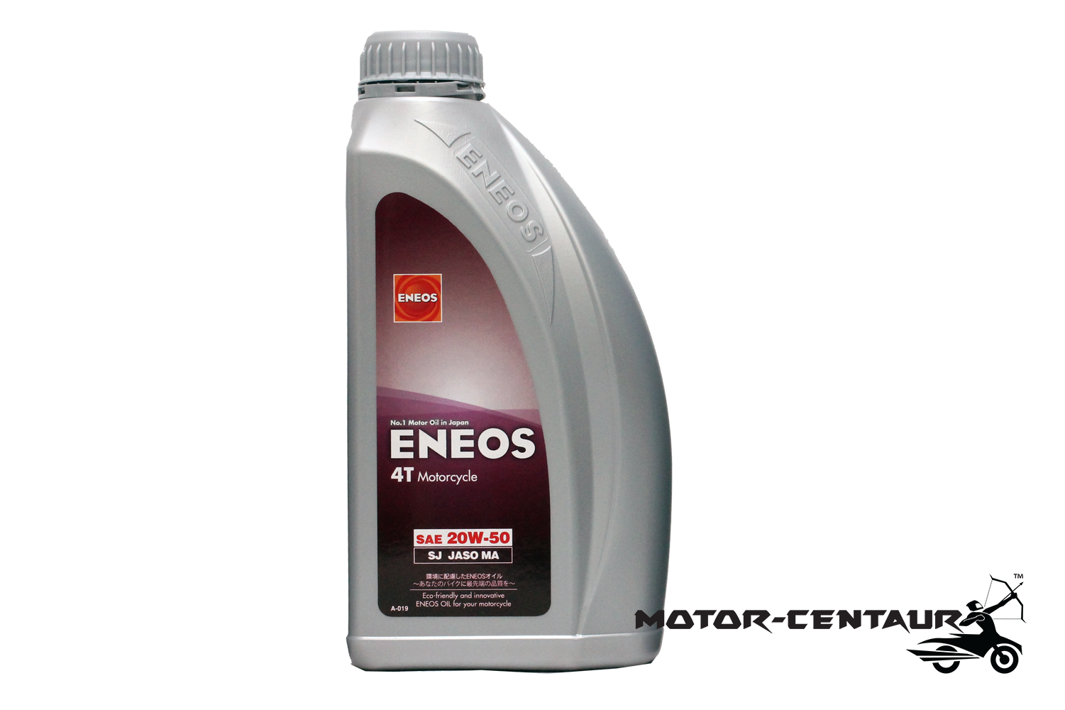 ENEOS MINERAL BASED 4T ENGINE LUBRICANT SAE20W50 MA 1L